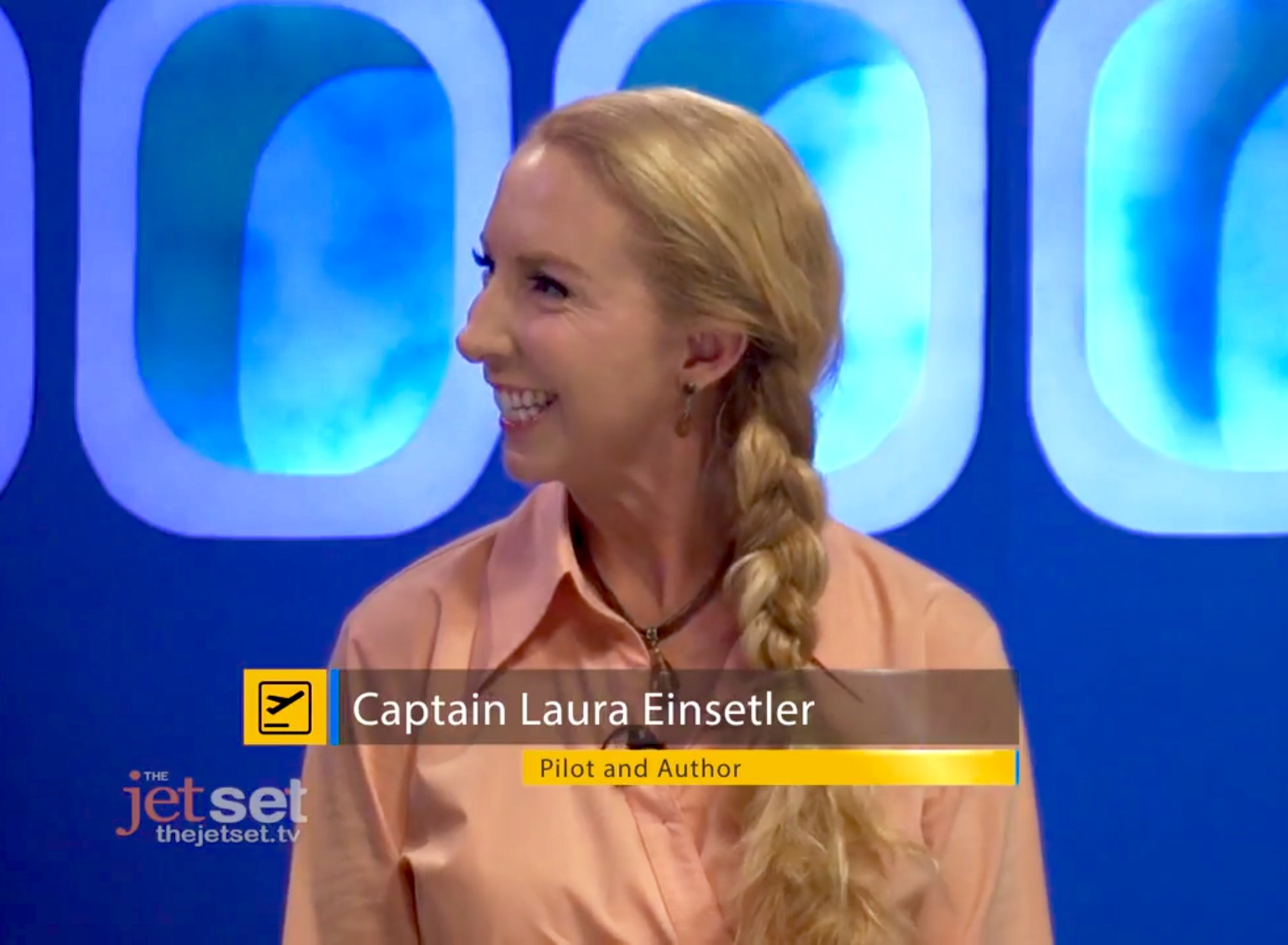 Read more about the article Captain Laura on The Jet Set! Lets talk Climate Change!