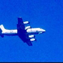 P-3 over Hilo