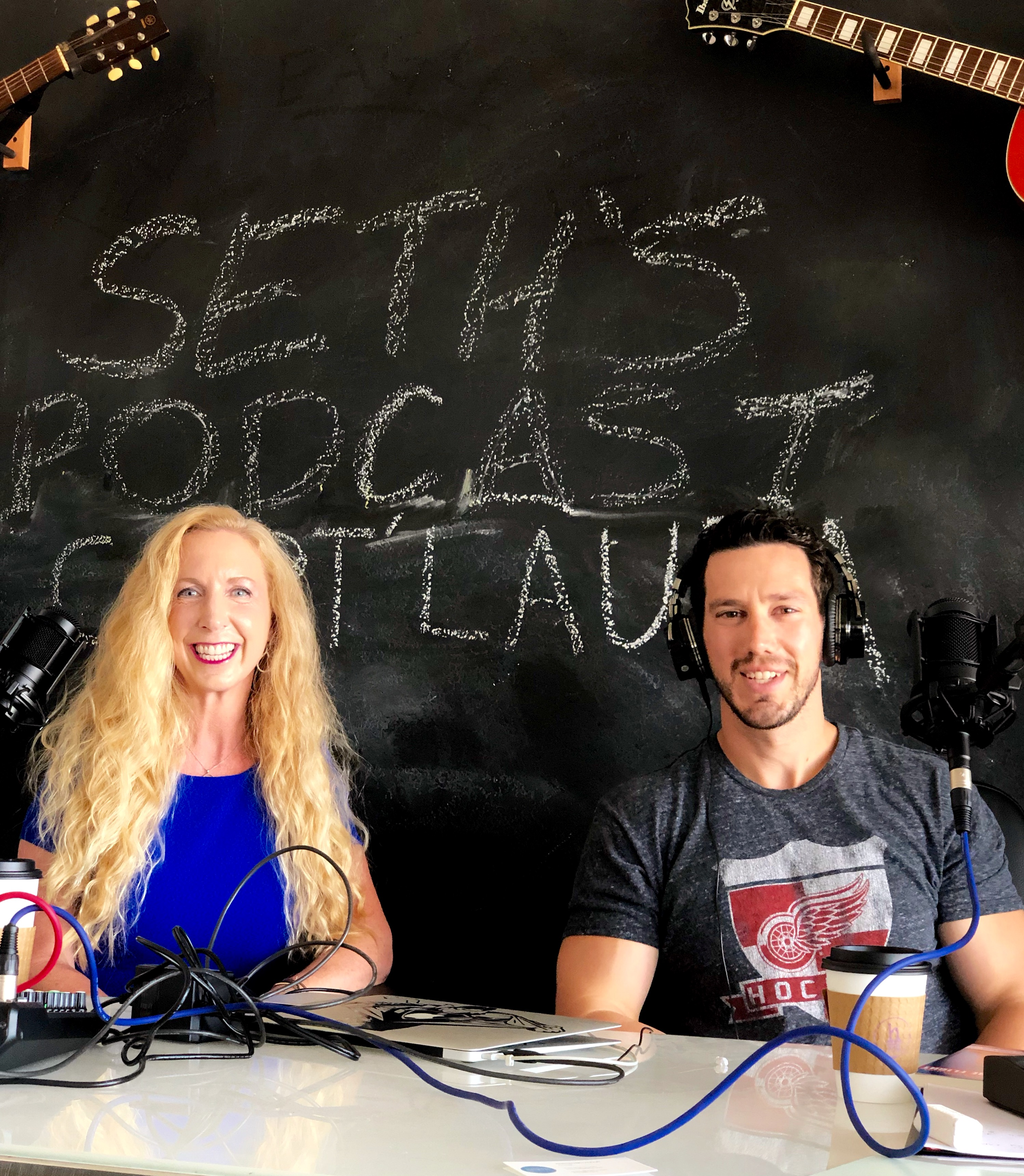 Read more about the article Podcast Interview w/ Host Seth Markzon !!