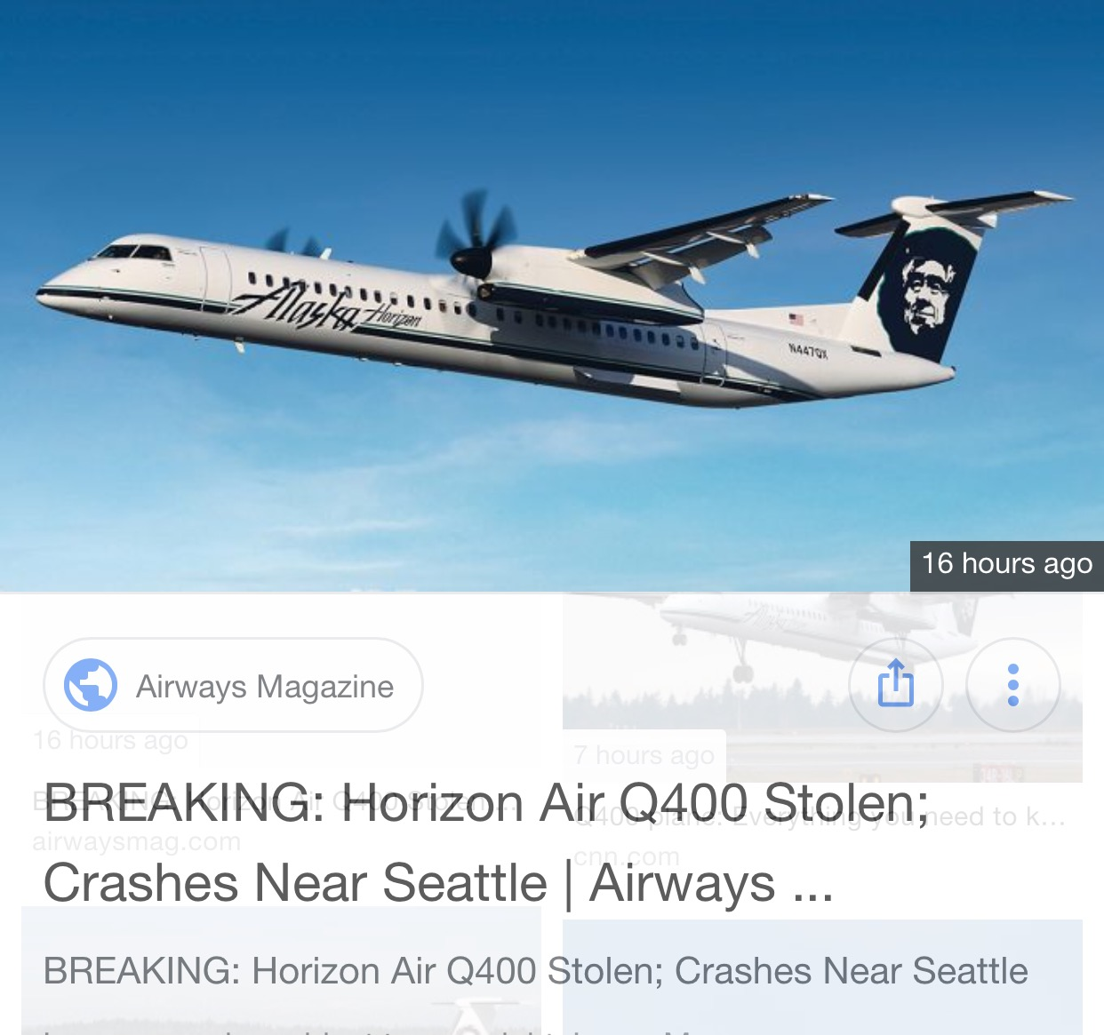 Read more about the article Stolen Regional Airline Aircraft, but how?