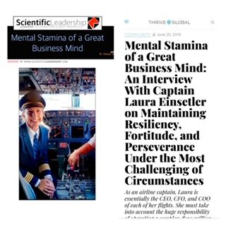 Read more about the article My Thrive Global interview on Mental Stamina, Resiliency, Fortitude, and Perseverance!